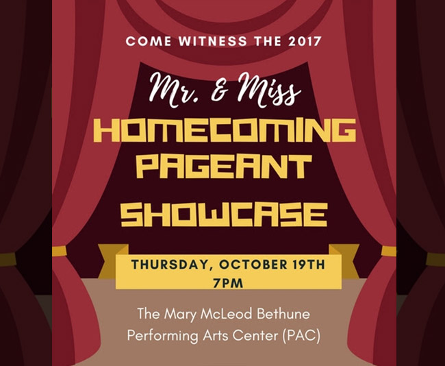 2017 Homecoming Pageant